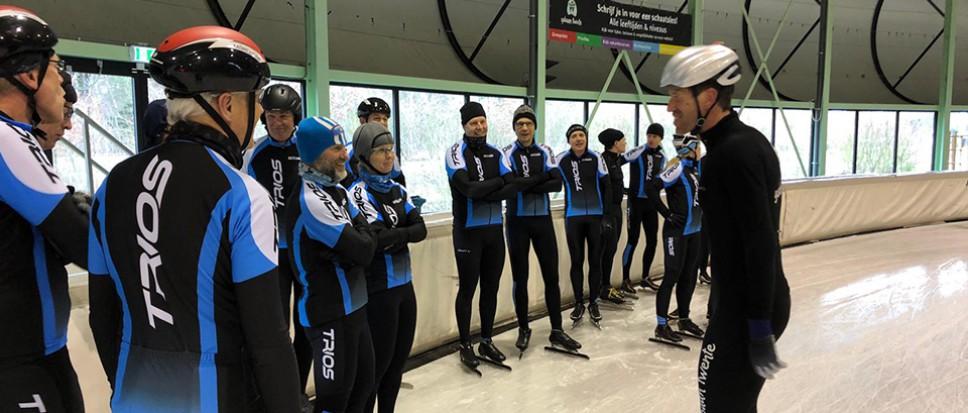 TVTrios werkt winterdip weg op ijsbaan
