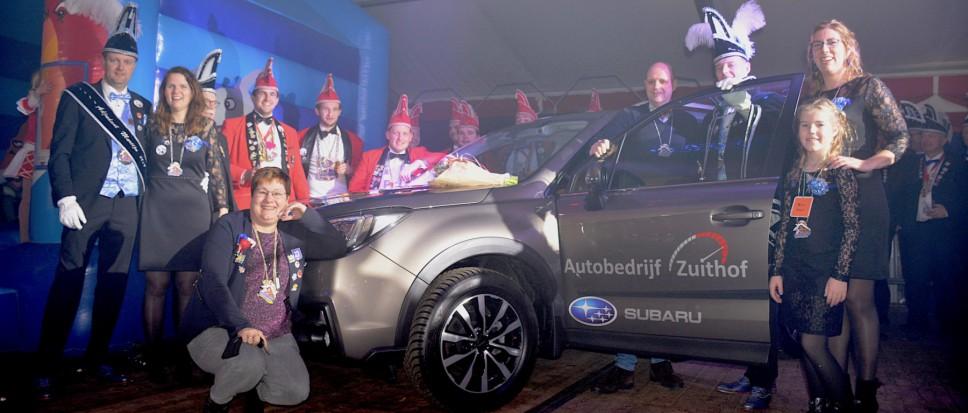 Tom en Martijn hebben hun Subaru
