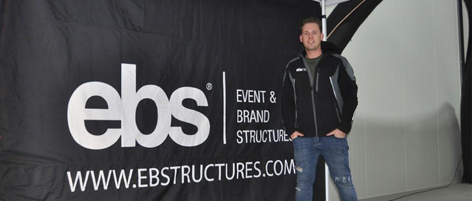 EBS airdomes en tenten op De Veldkamp