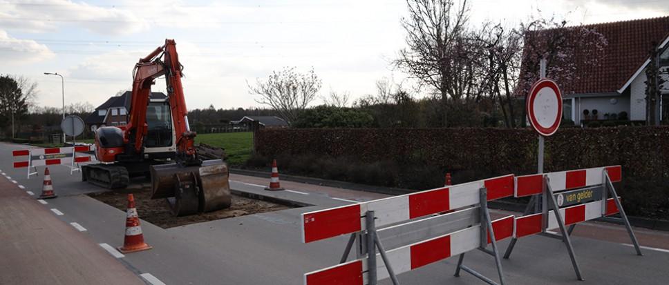 Nieuwe drempels in de Twickelerblokweg