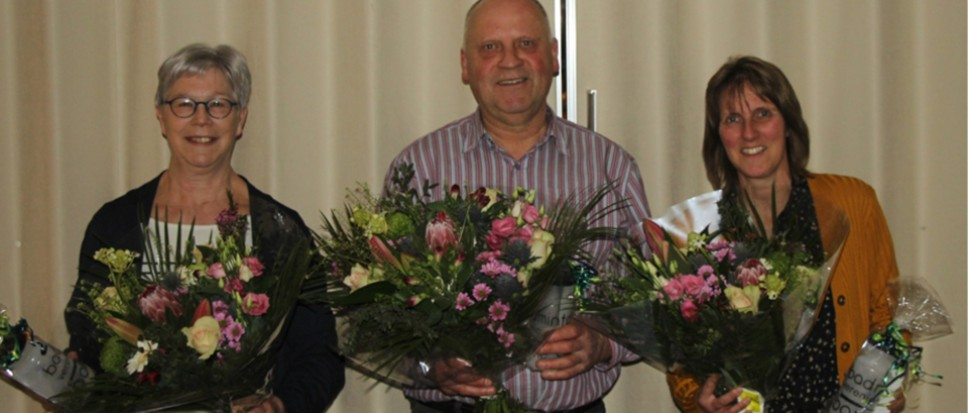 Badmintonvereniging eert jubilarissen