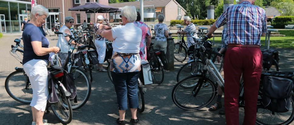 Maandelijkse fietstochten weer van start