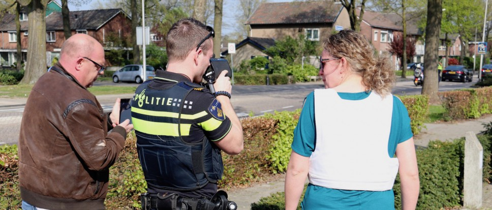 Succesvolle 'Rent a cop' in Borne