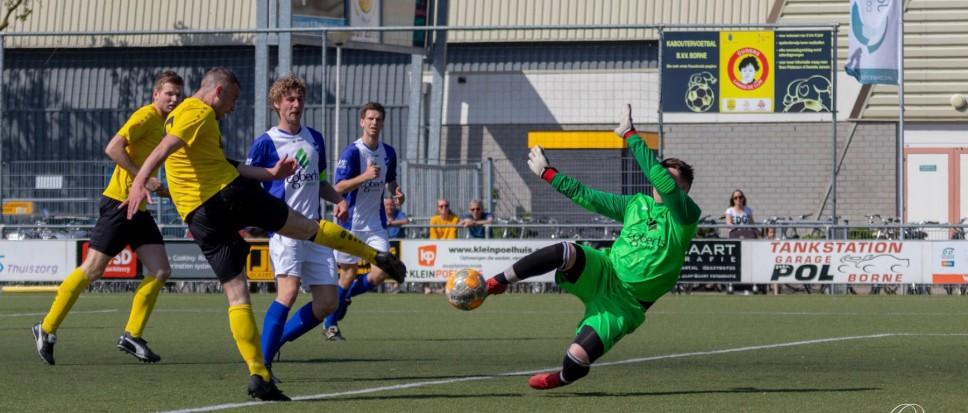 Borne wint ruim van SV Vasse