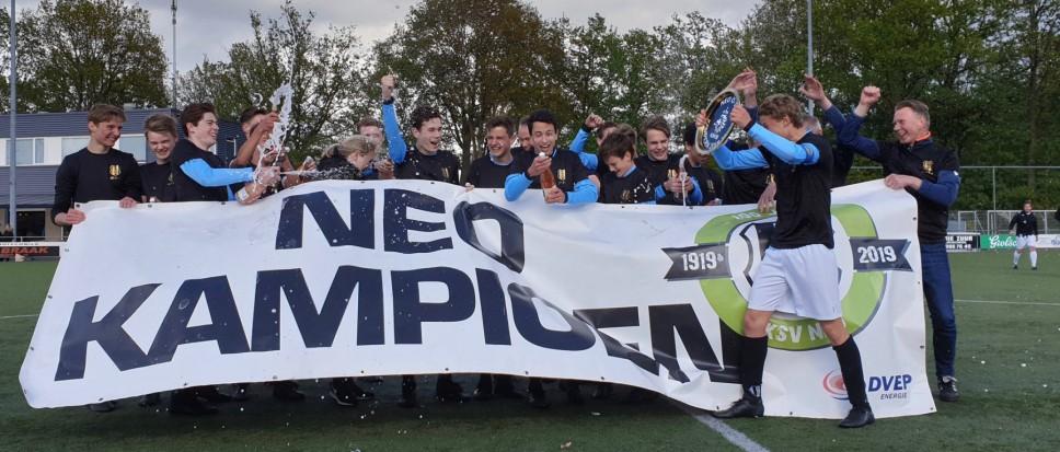 NEO JO17-1 kampioen