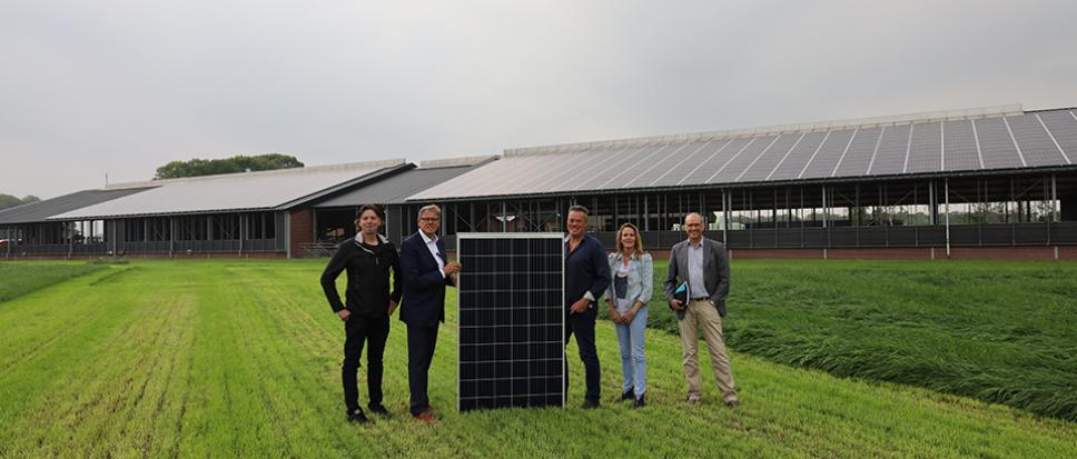 Batterij zonnepanelen bij Blenke
