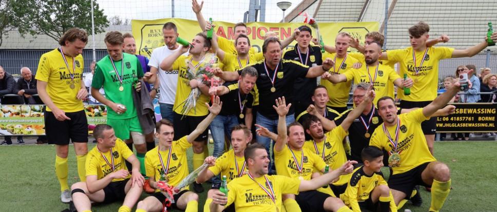 BVV Borne kampioen!
