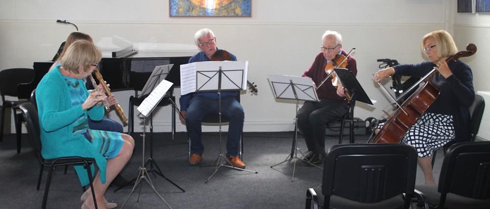 Musici doen recht aan Cultureel Podium