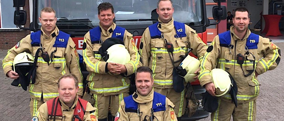 Bornse brandweer tweede in Bedum