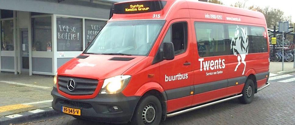 Buurtbus rijdt tijdelijk andere route