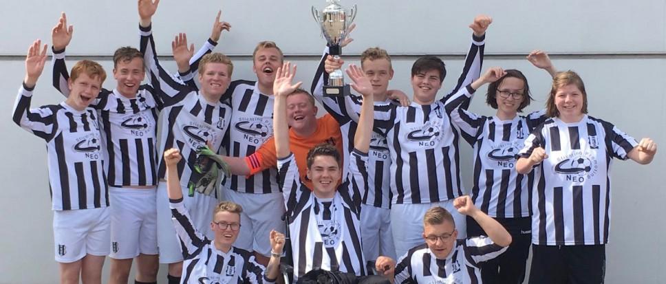 G-jeugd wint toernooi bij Ajax