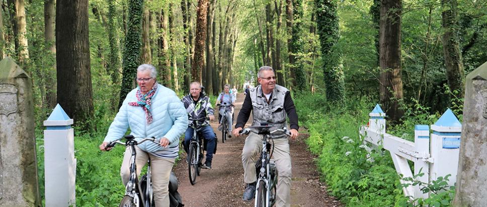 Fiets4daagse voert richting Fleringen