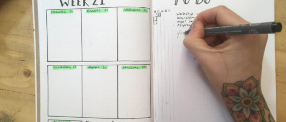 Workshop Bullet Journal