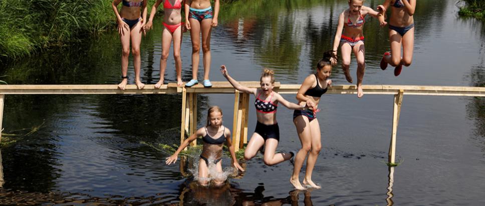 Klachten na zwemmen in Bornschebeek
