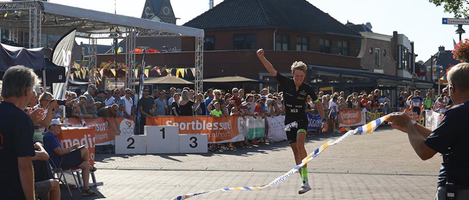 Daan Schouten wint Run Bike Run