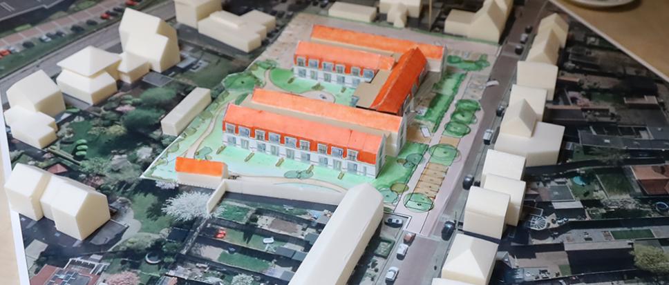 Conceptplan voor voormalige Eschschool