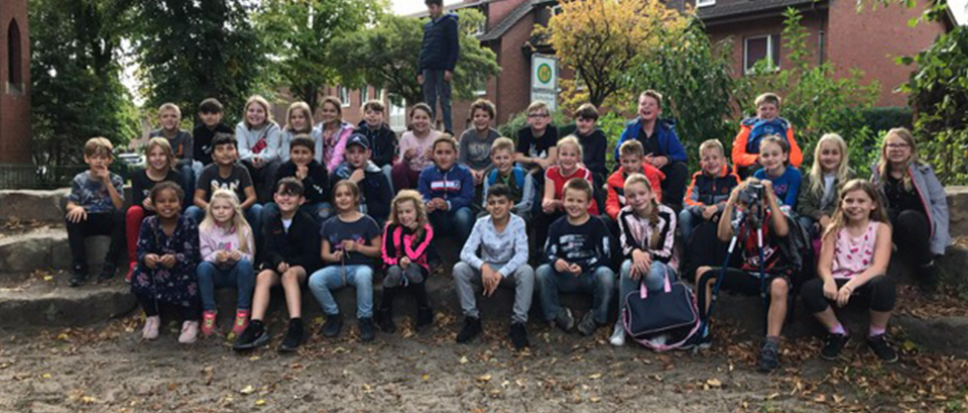 Scholen vermaken zich in Rheine