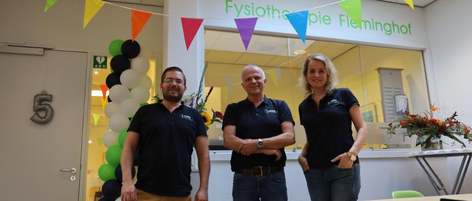 Vijf jaar Fysiotherapie Fleminghof
