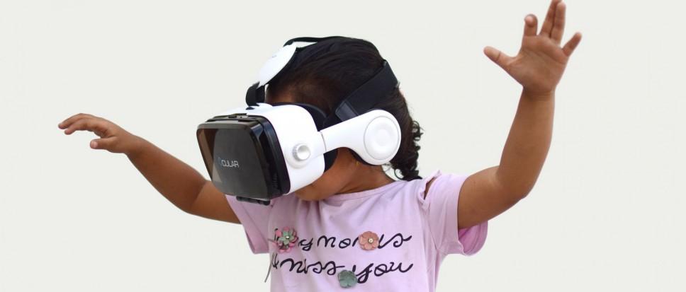 Ontdek en bouw je eigen wereld met 'Virtual Reality'!