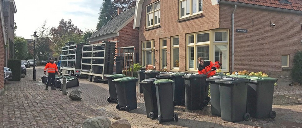 Nieuwe afvalcontainers