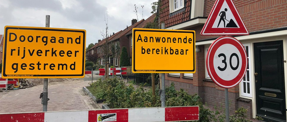 Nog maar één bewoner Oude Hengeloseweg?
