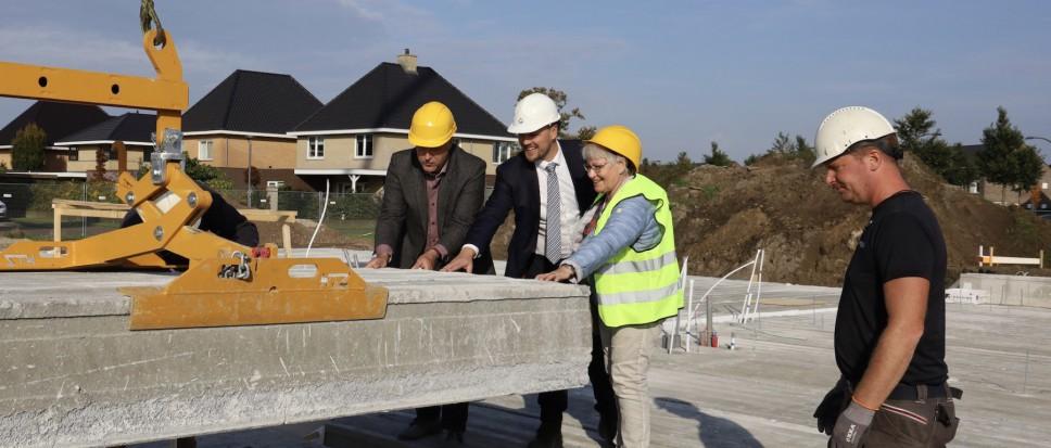 Bouw appartementen officieel van start