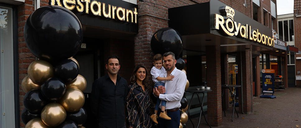 Royal Lebanon feestelijk van start