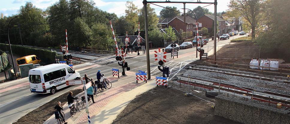 Aanpassingen overweg Deldensestraat gereed