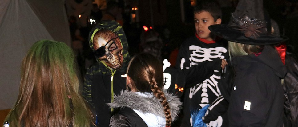 Halloweenparty in Wensink-Zuid