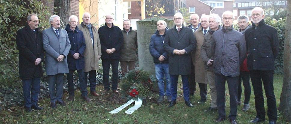 Kristallnacht herdenking in Rheine