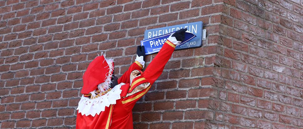 Rheineplein wordt Pietenplein