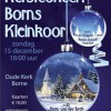Kerstconcert Borns Kleinkoor - 15 dec
