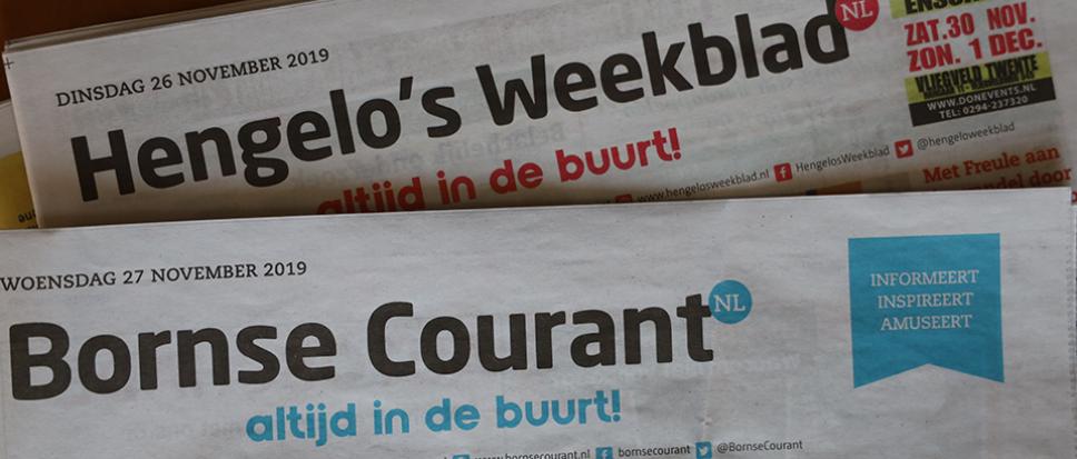 Bornse Courant en Hengelo's Weekblad samengevoegd