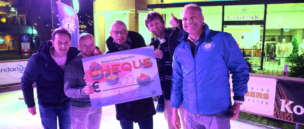 OBToppers wint Borne Curling Open