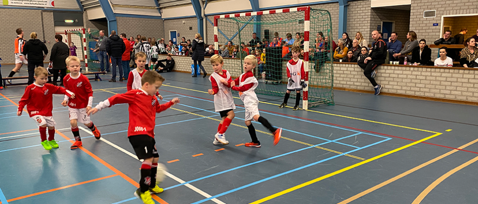 Voetbal is een regiofeest in 't Wooldrik
