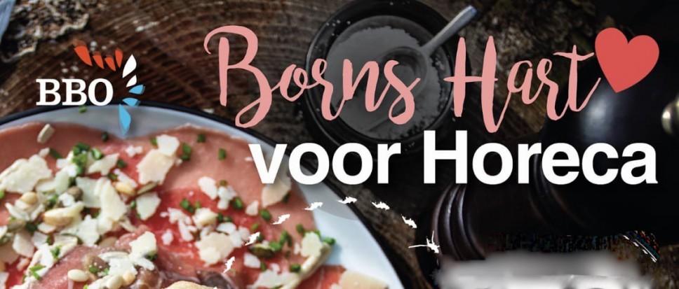 Nieuw: de 'Borns Hart voor Horeca' bon