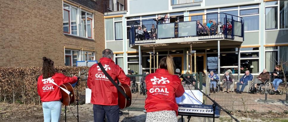 Muzikaal verzetje voor bewoners
