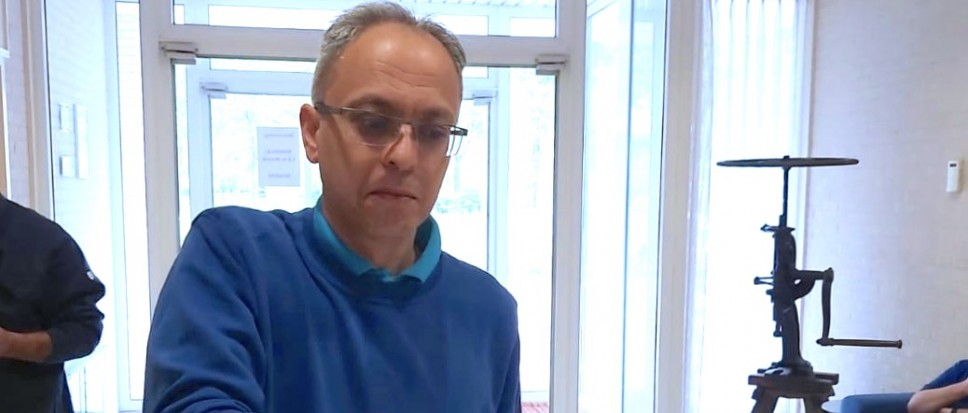 Taner Demircan 25 jaar in dienst