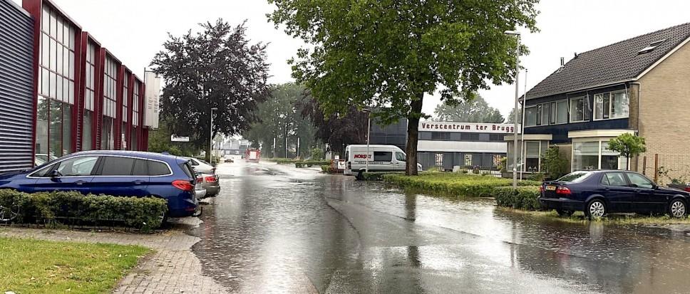 Wateroverlast in Borne