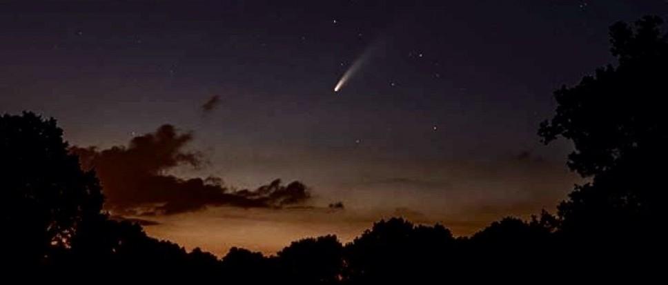 Komeet ook gespot in Borne