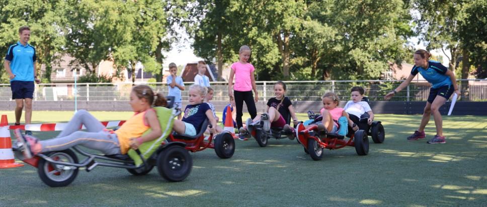 Max Verstappentjes racen bij 't Wooldrik