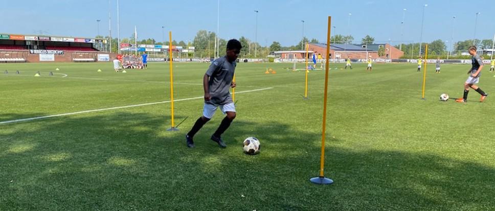 Soccer Camp laat voetballertjes stralen