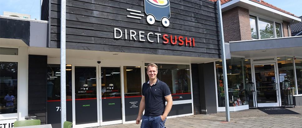 Direct Sushi vestigt zich aan Azelosestraat