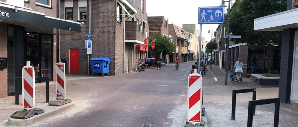 Nieuwe Kerkstraat is nu woonerf