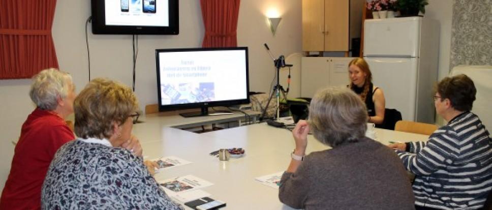 Videoclub Borne start cursus Filmen en fotograferen met je Smartphone