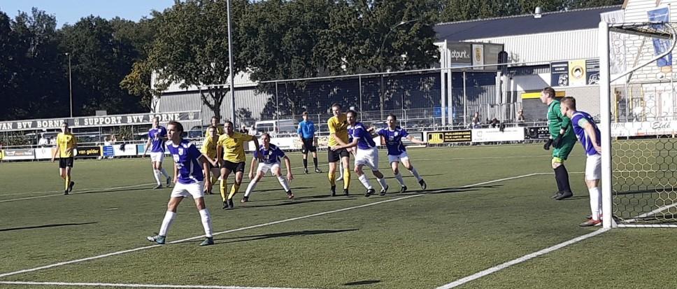 BVV Borne met 0-4 onderuit tegen TVO