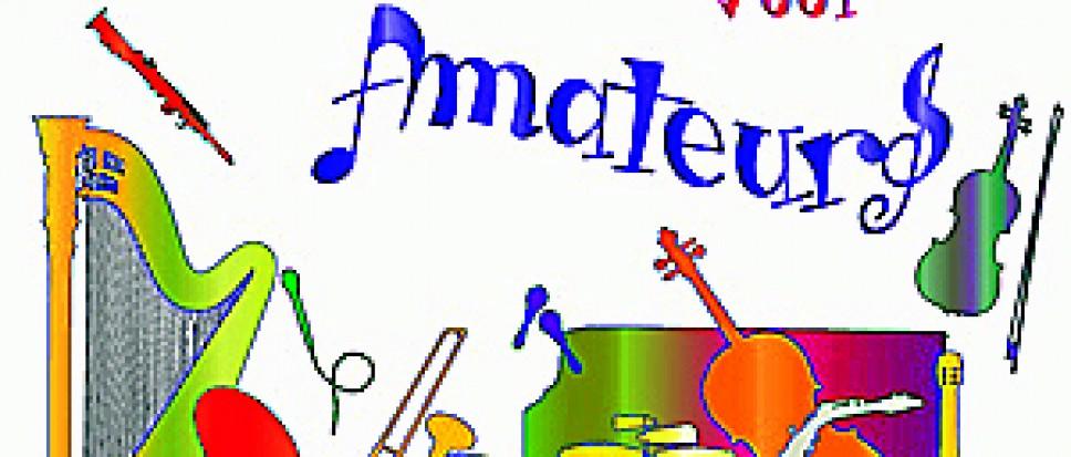 Open Podium: Amateurs voor Amateurs