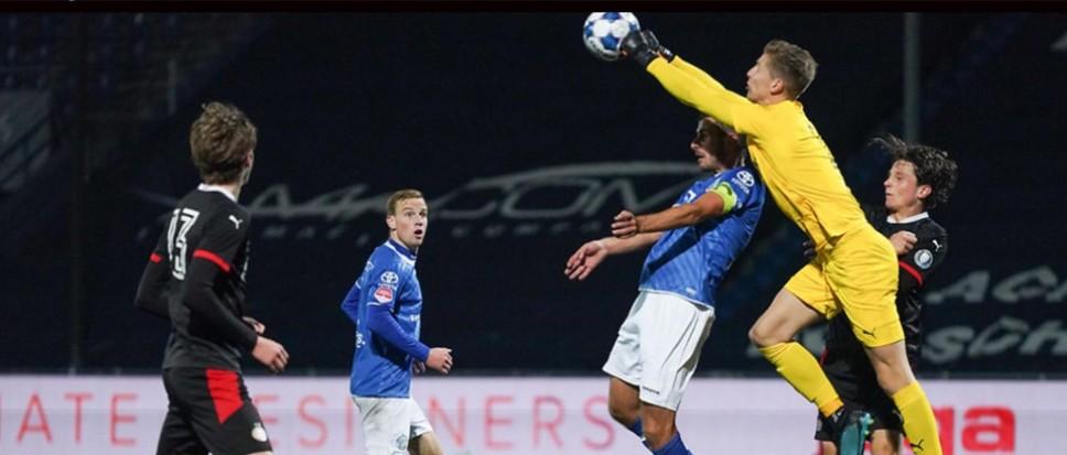 Mark Spenkelink debuteert bij Jong PSV