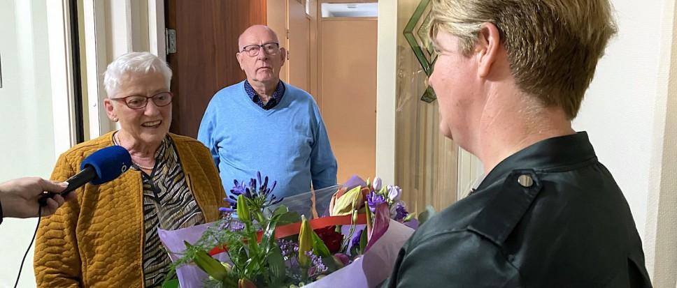 Fleurig huisbezoek aan 51 jubilarissen
