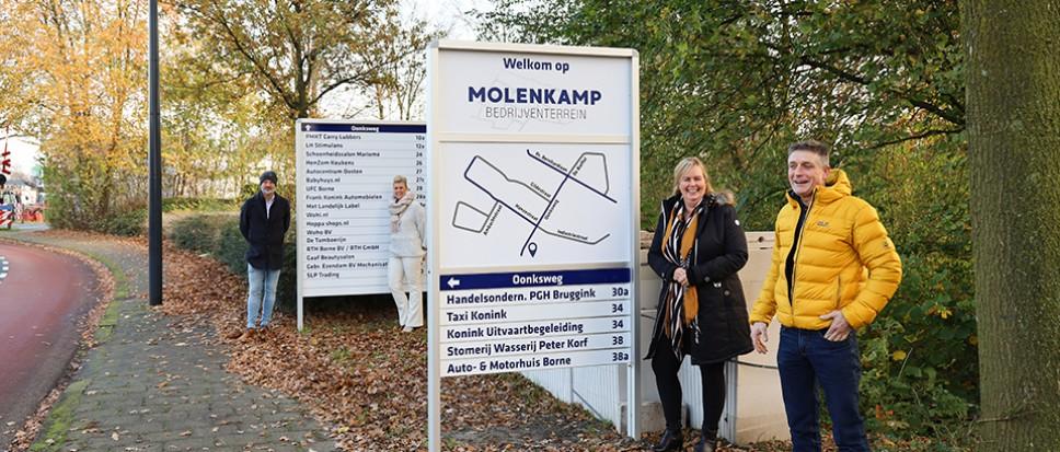 Molenkamp ondernemers bruisend onderweg